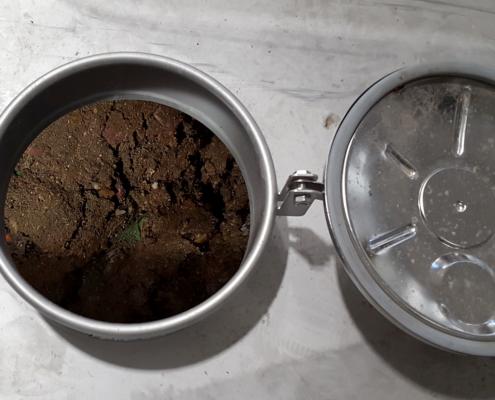Skille gjødsel og kompost på Mjøsanlegget